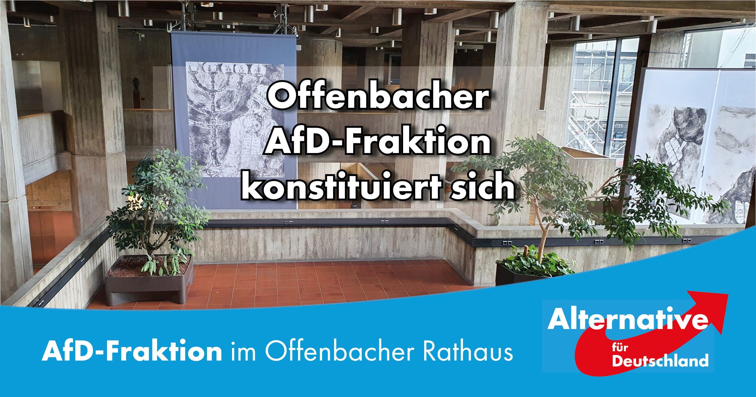 Konstituierung der Offenbacher AfD Fraktion