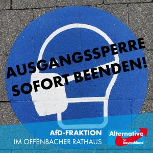 Read more about the article Unverzügliche und schrittweise Rückkehr zur Normalität!
